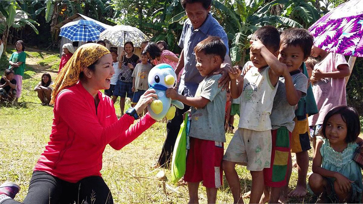 Outreach Program for the Mangyans of Sitio Abocado Brgy. Conrazon Bansud Mindoro