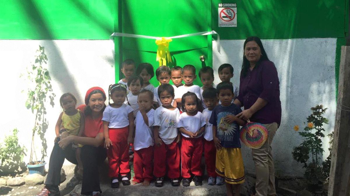 BNP Paribas Daycare Center for Mangyans