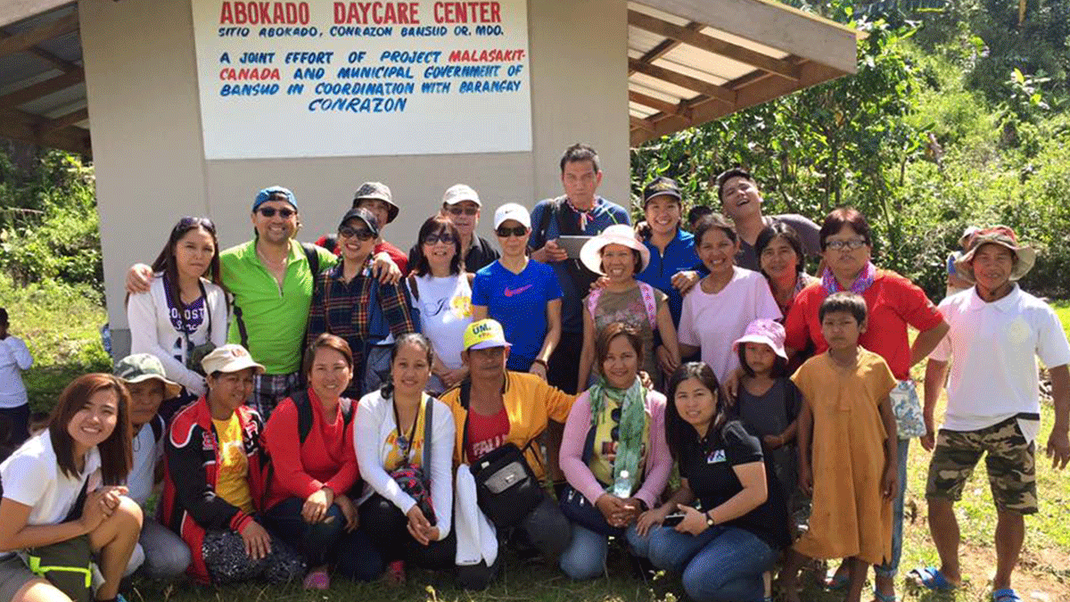 Outreach ang Inauguration of Abocado Daycare Center