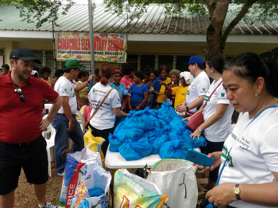 BNP Paribas Outreach for Brgy Nabuklod Floridablanca Pampanga