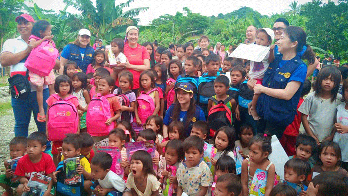 Outreach Program Sitio Buhuan, and Magod Brgy. Malo Bansud Mindoro